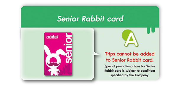 How to add value and trips in a Rabbit card